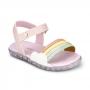 Sandália Infantil Feminina Bibi Baby Soft Rainbow