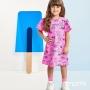 Vestido Infantil Feminino Momi Espacial