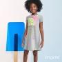 Vestido Infantil Feminino Momi Lemon