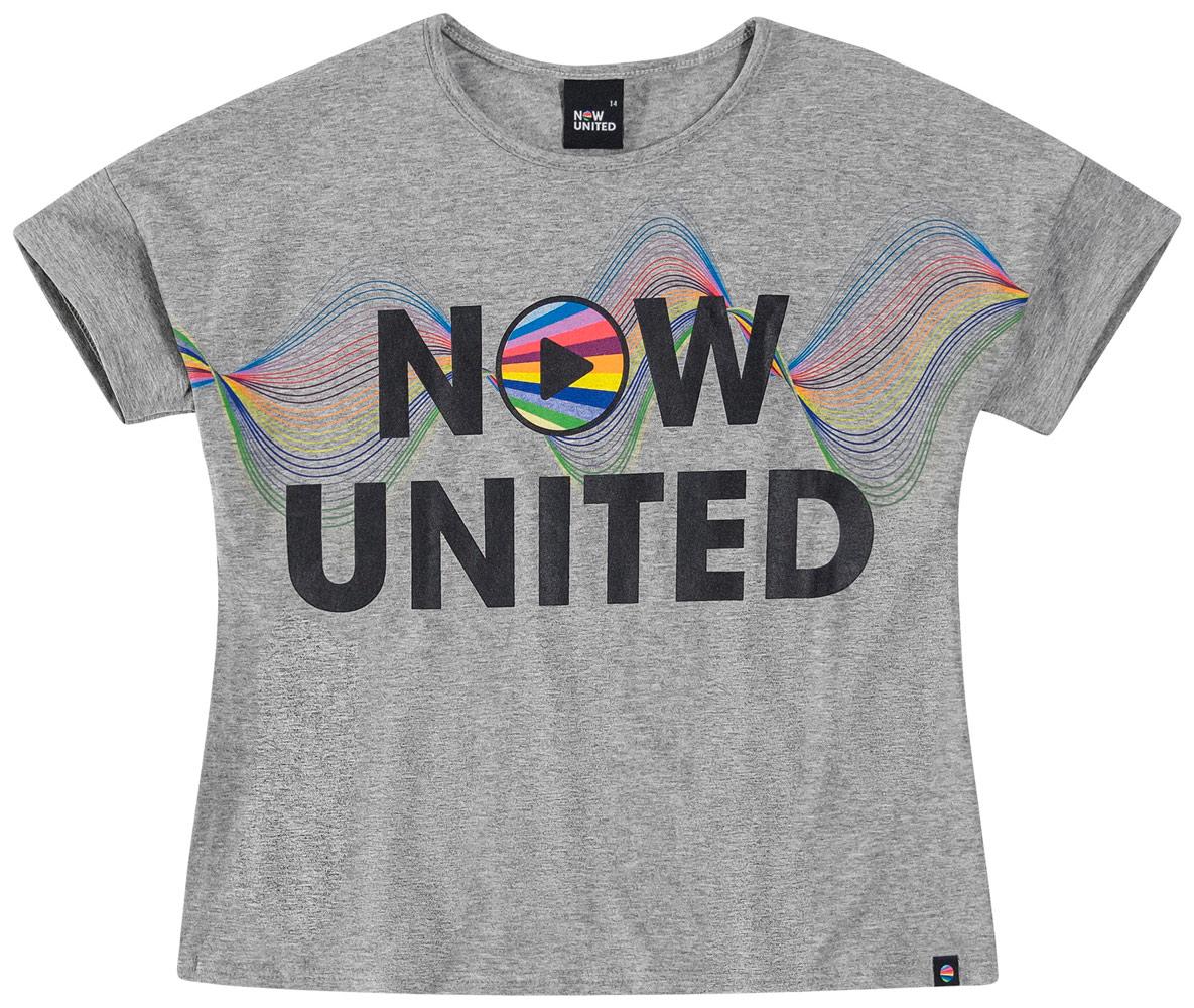 Blusa Infantil Feminina Malwee Now United