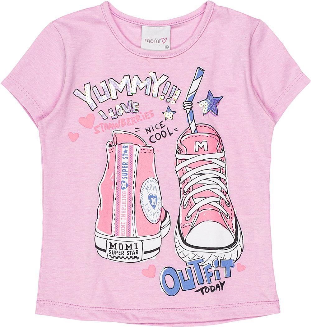 Blusa Infantil Feminina Momi All Star