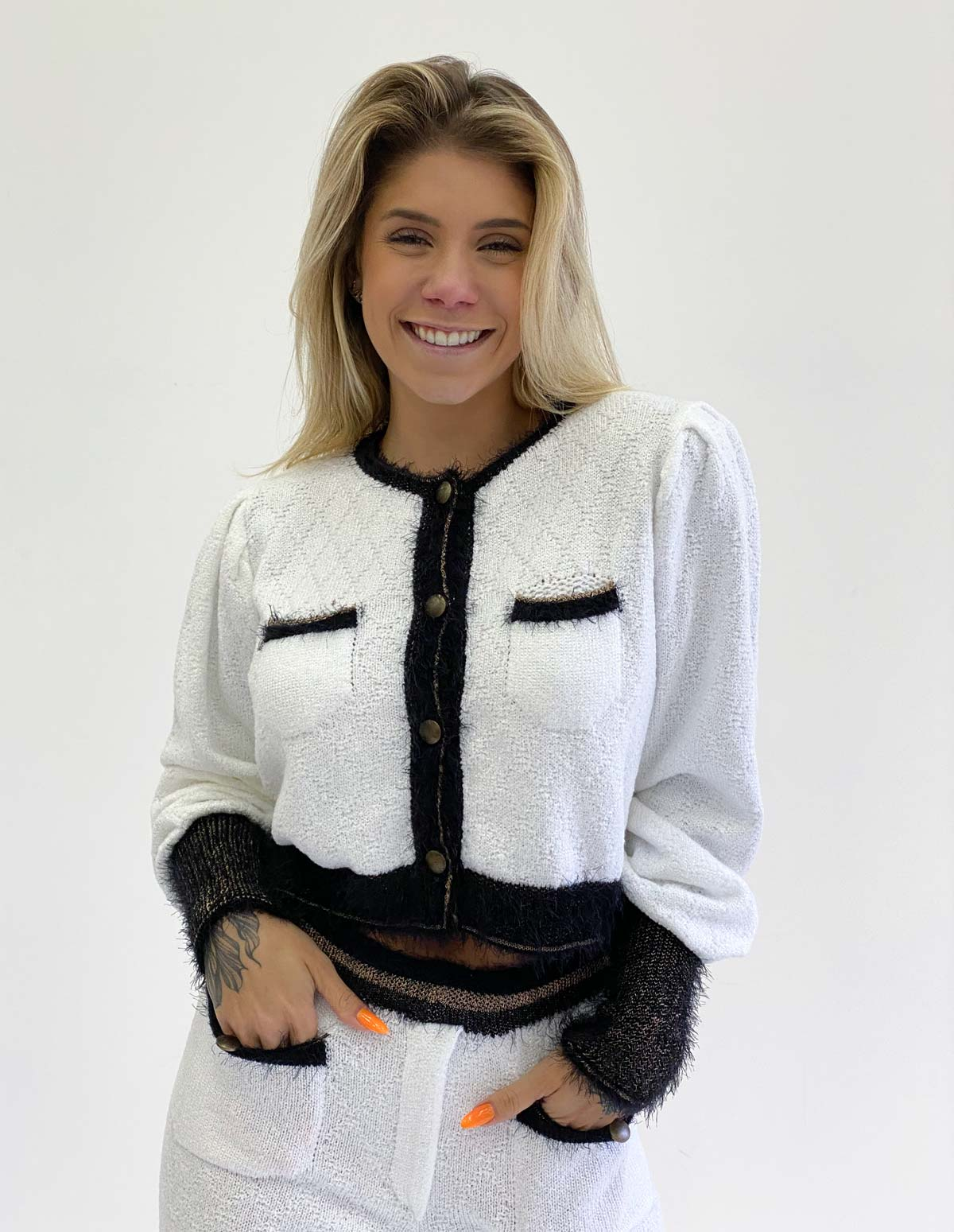 Blusa Tricot Feminino Zingara