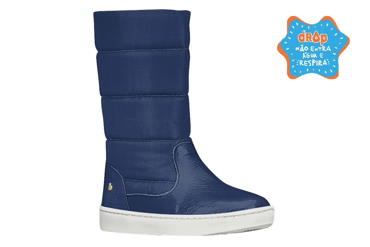 Bota Infantil Feminina Bibi Urban Boots Cano Longo