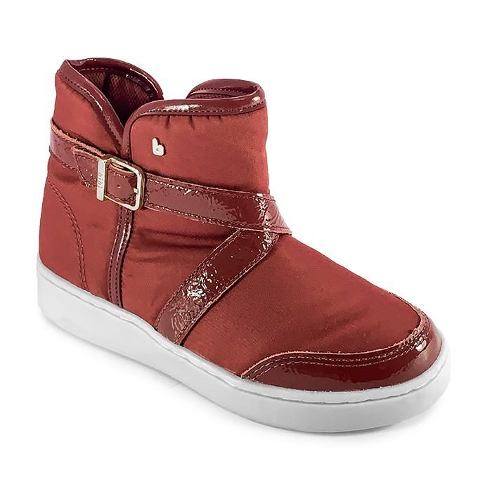 Bota Infantil Feminina Bibi Urban Boots Merlot