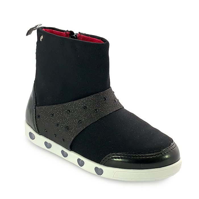 Bota Infantil Feminina Pampili Sneaker Luz Led