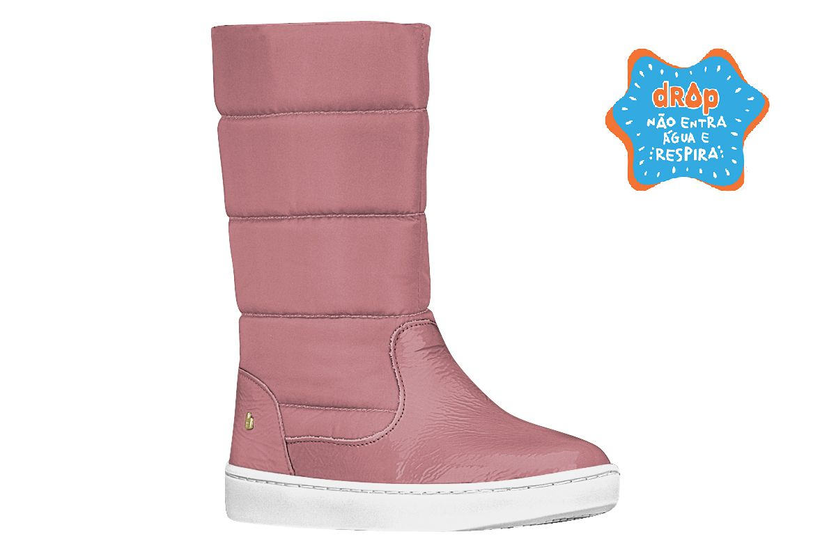 Bota infantil Feminina Urban Boots Cano Longo
