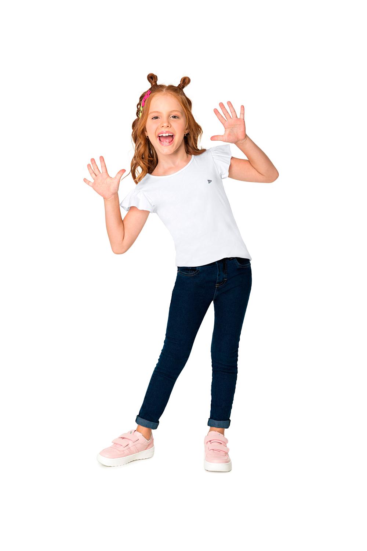 Calça Jeans Infantil Feminina Malwee