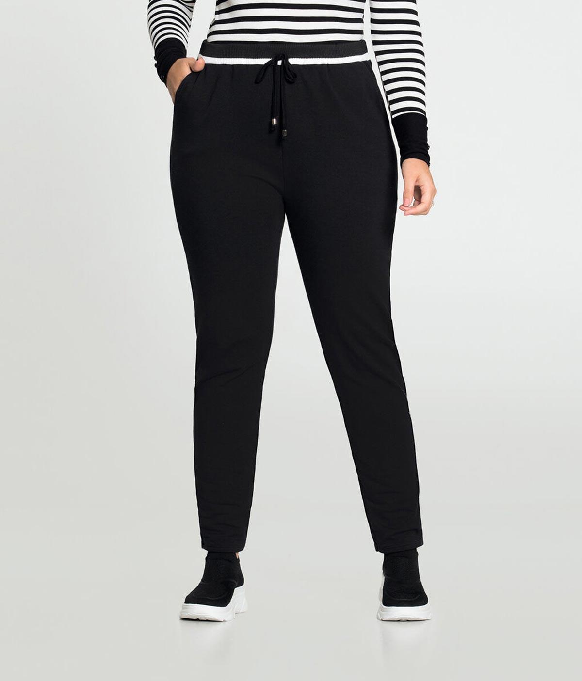Calça Jogging Feminina Lunender Plus Size