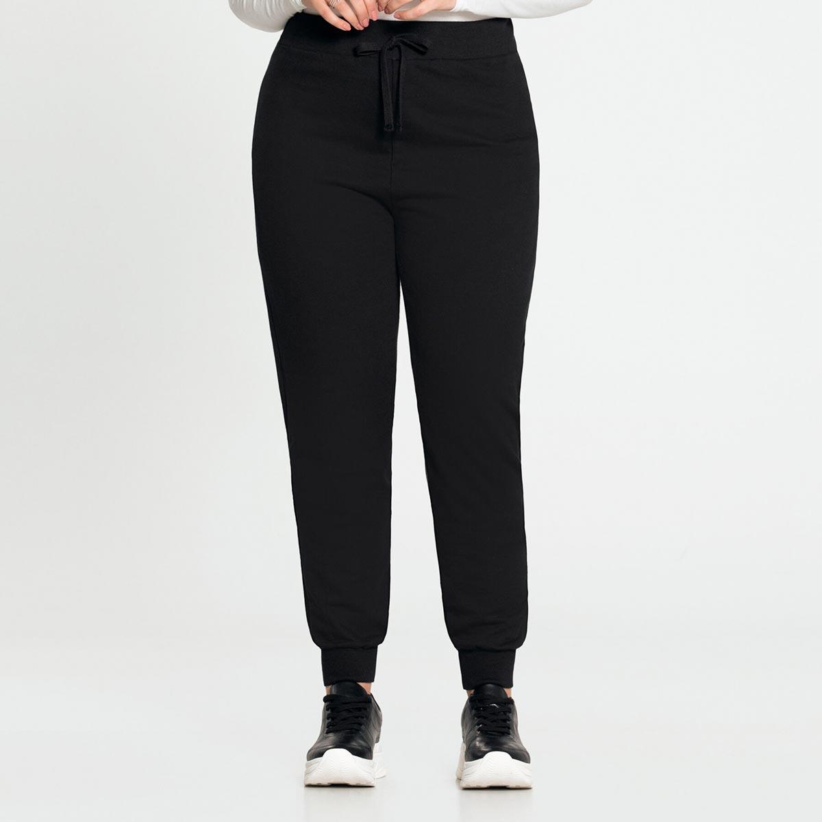Calça Jogging Moletom Feminino Lunender Plus Size