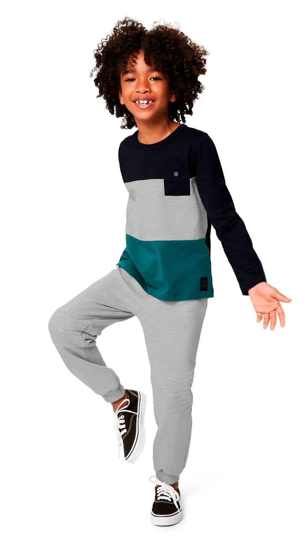 Calça Slim Infantil Masculina Malwee