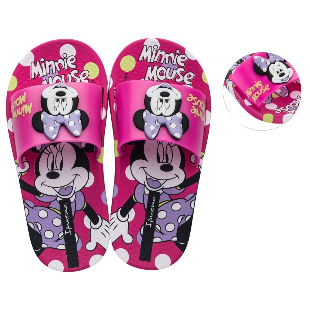 Chinelo Slide Infantil Feminino Disney