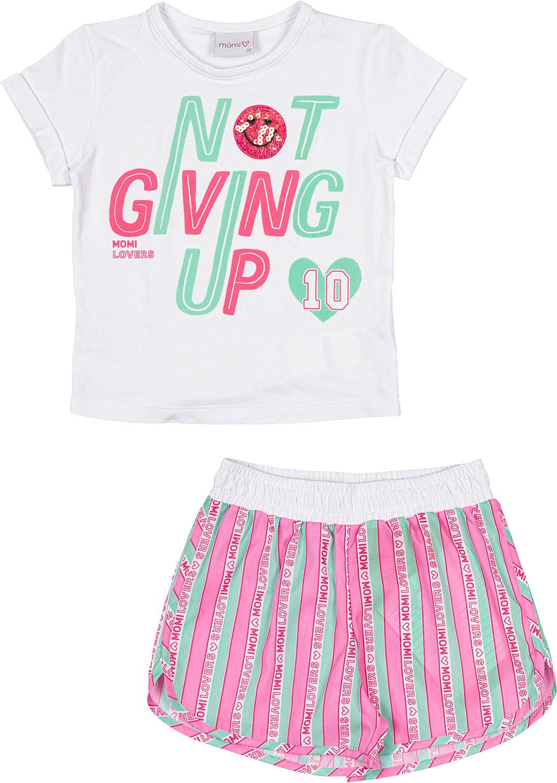 Conjunto Infantil Feminino Momi Not Giving Up