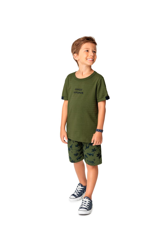 Conjunto Infantil Masculino Malwee Jungle Explorer