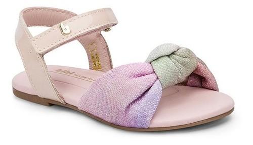 Sandália Infantil Feminina Bibi Mini Me Tie-Dye