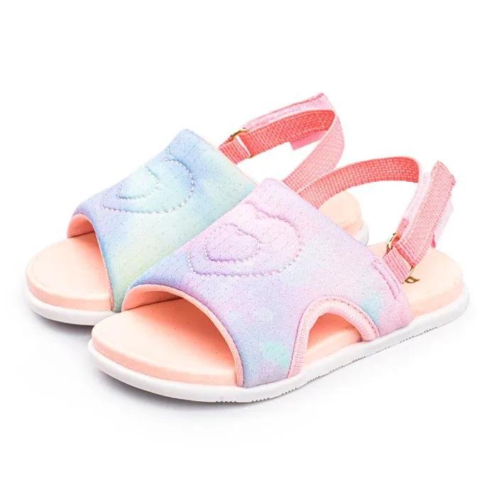 Sandália Infantil Feminina Pampili Mini Fly Comfy Malha Pet