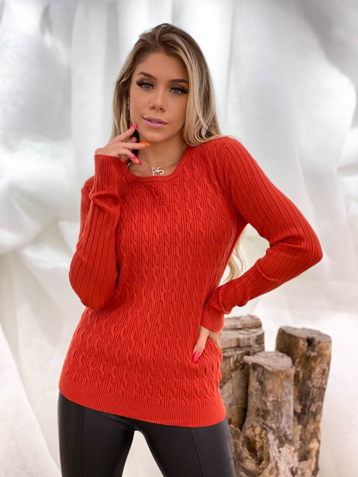 Suéter Tricot Feminino Facinelli By Mooncity