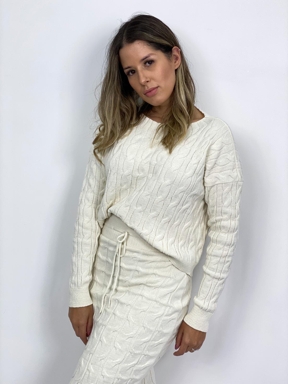 Suéter  Tricot Modal Feminino Zingara