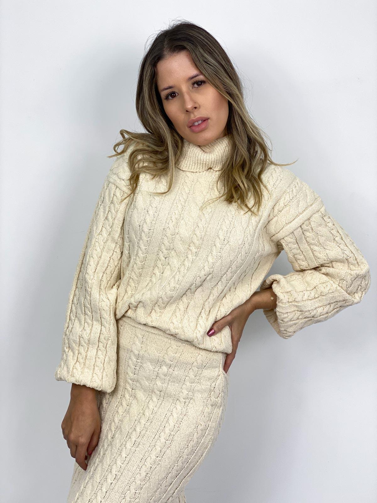 Suéter Tricot Feminino Zingara