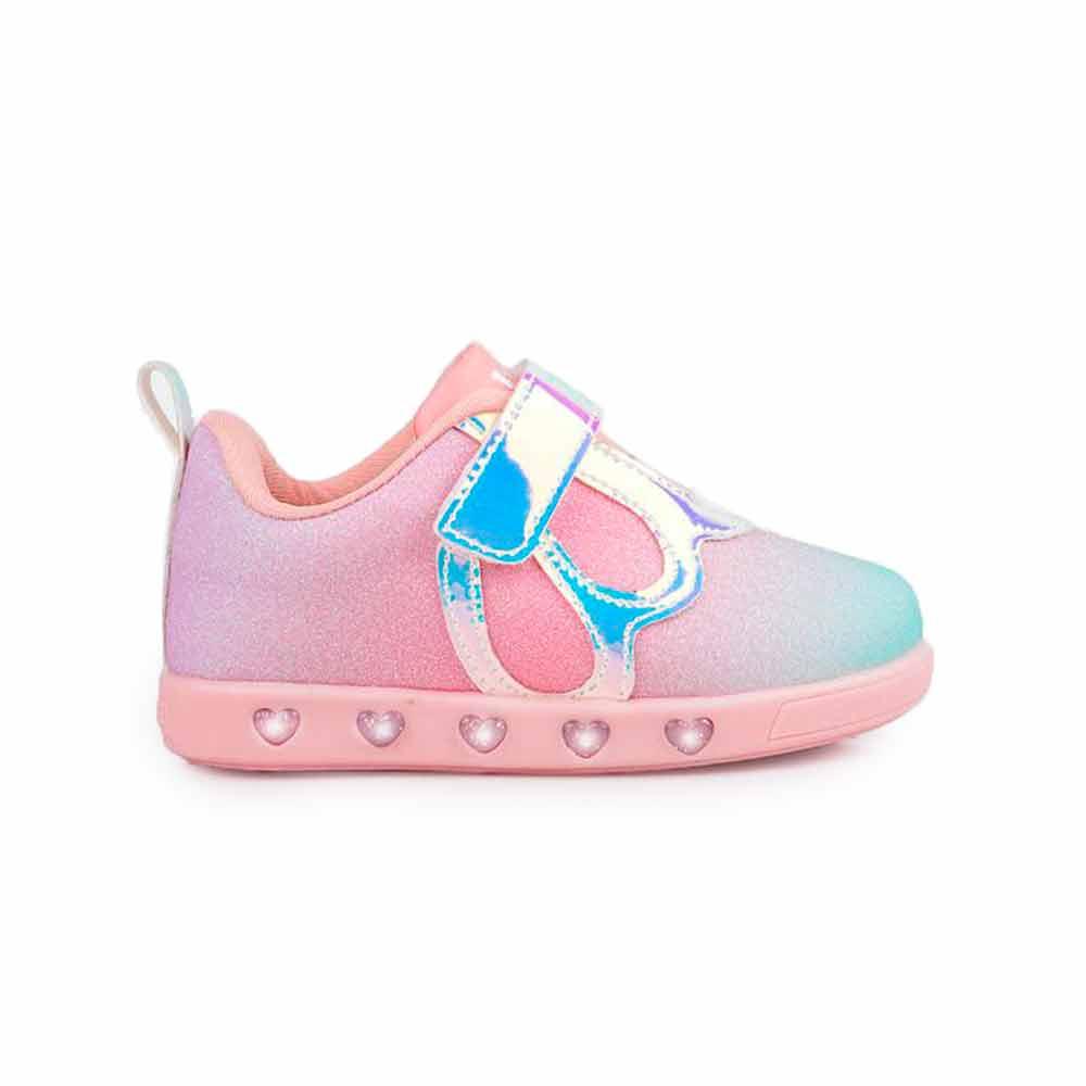 Tênis De Led Infantil Feminino Pampili Sneaker