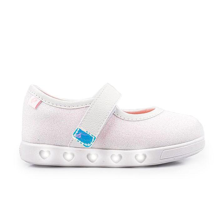 Tênis de LED Infantil Feminino Pampili Sneaker Luz