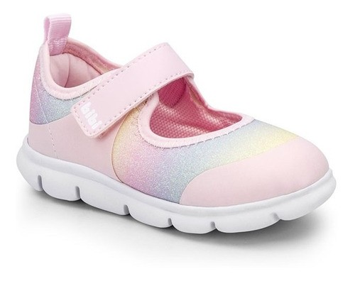 Tênis Infantil Feminino Bibi Energy Baby New II Glitter Tie-Dye