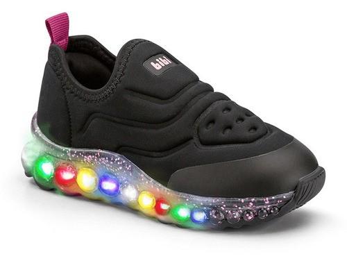 Tênis Infantil Feminino Bibi Roller Celebration Glitter