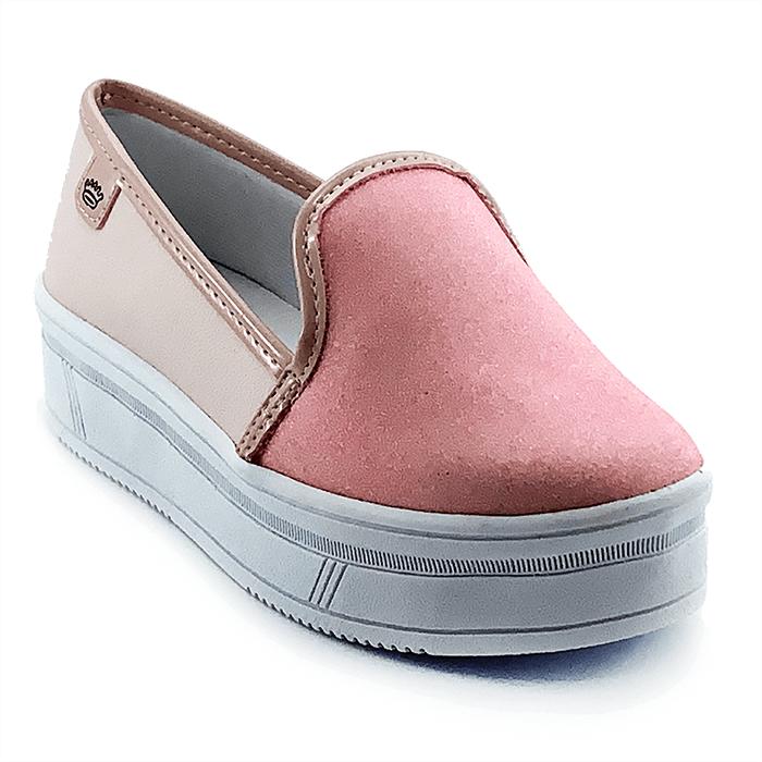 Tênis Infantil Feminino Pink Cats Flatform