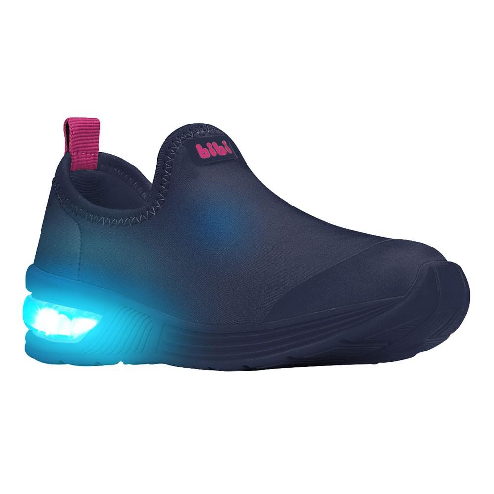 Tênis LED Infantil Feminino Bibi Space Wave 2.0