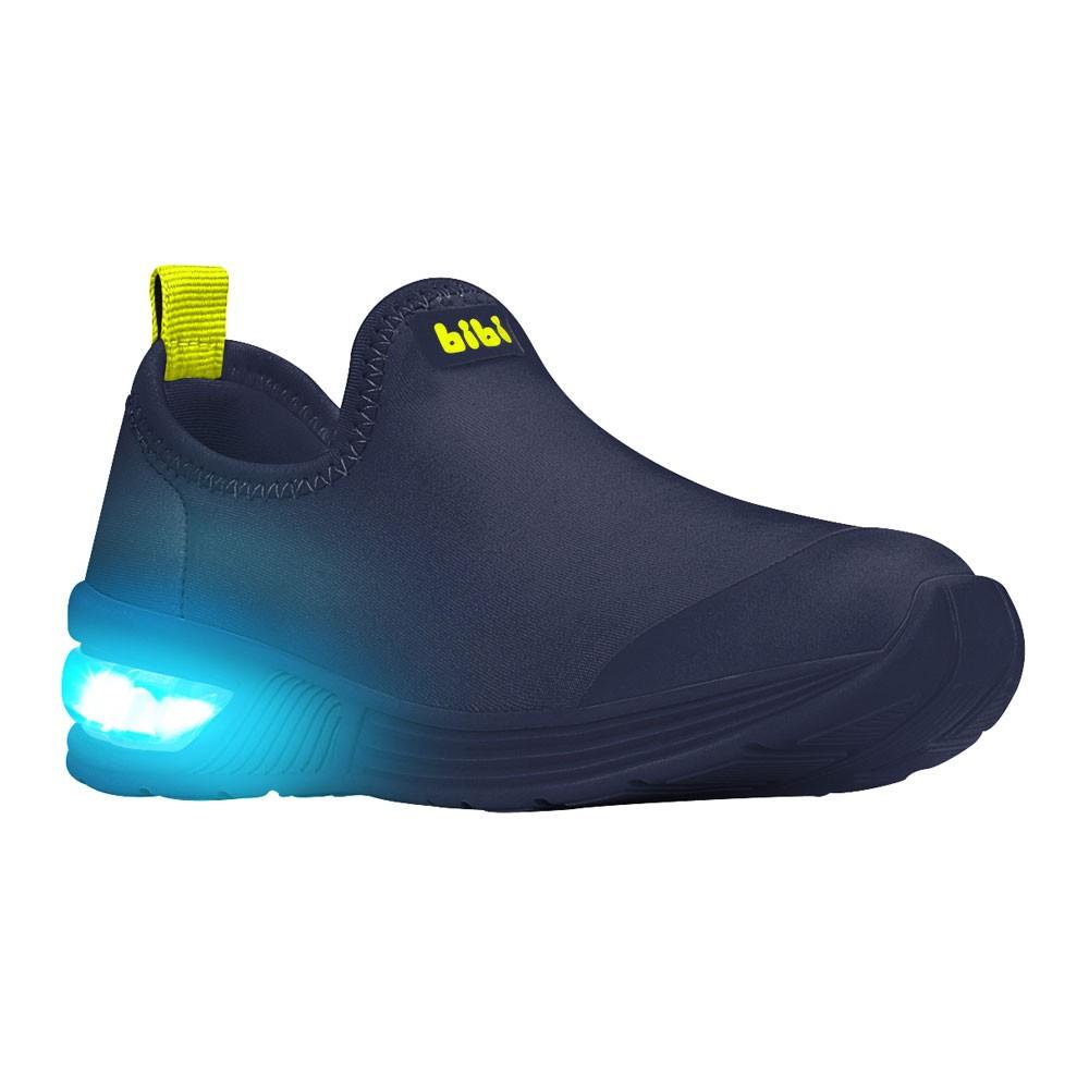 Tênis LED Infantil Masculino Bibi Space Wave 2.0