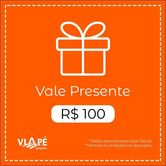 Vale Presente R$100 | Loja Física