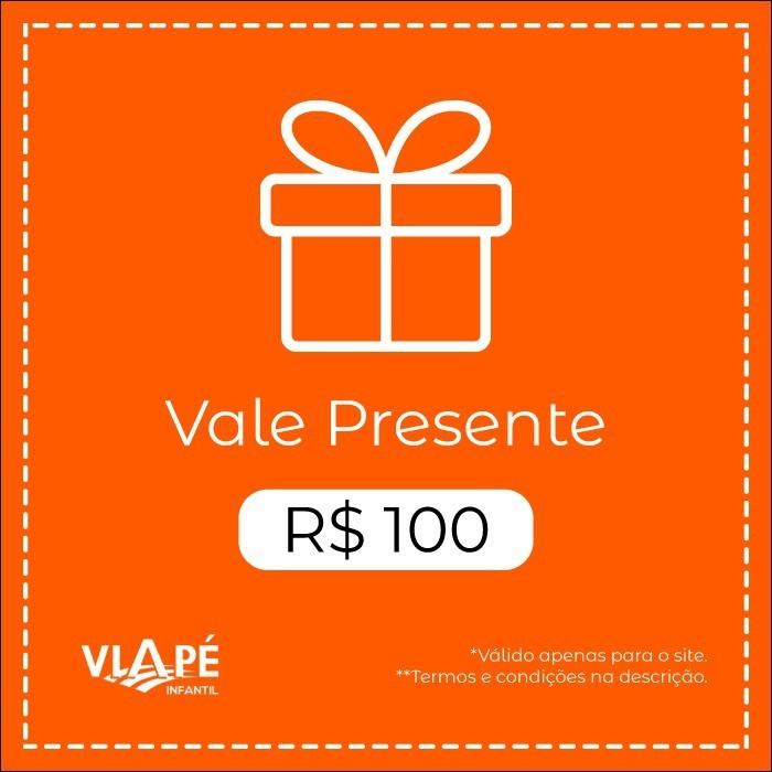 Vale Presente  R$100 | Site