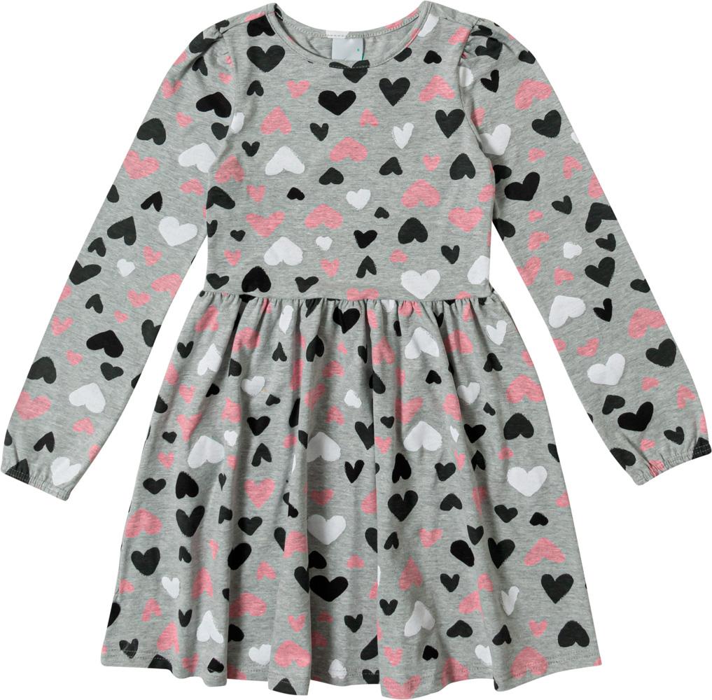 Vestido Infantil Feminino Malwee