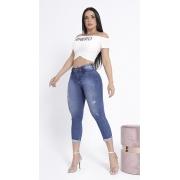 Calça Jeans Capri Corpo Perfeito Cintura Alta Rhero Jeans