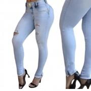 Calça Jeans Cigarrete Cintura Perfeita On-line Jeans