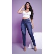 Calça Jeans Cintura Perfeita Barra Desfiada Rhero Jeans