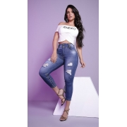 Calça Jeans Corpo Perfeito Cintura Alta Rhero Jeans