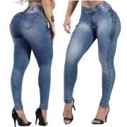 Calça Jeans Feminina Cigarrete Cintura Perfeita Rhero Jeans