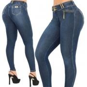 Calça Jeans Cigarrete Cintura perfeita Modeladora Rhero Jeans