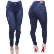 Calça Jeans Feminina Confort  Jeans Escuro Crocker