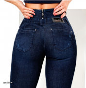 Calça jeans super skinny cintura perfeita Pit Bull Jeans