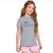 Pijama Feminino Infantil Família Filha