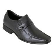 Sapato Masculino Social Em Couro Legitimo Cor Preto