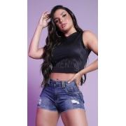 Short Feminino com strass Rhero Jeans