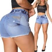 Short Jeans Com Strass Rhero Jeans