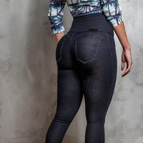 Calça Jeans Cós Magico Pit Bull Jeans Modela Cintura