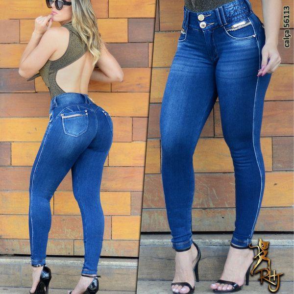 Calça Cigarrete Modeladora Cintura Perfeita Rhero Jeans
