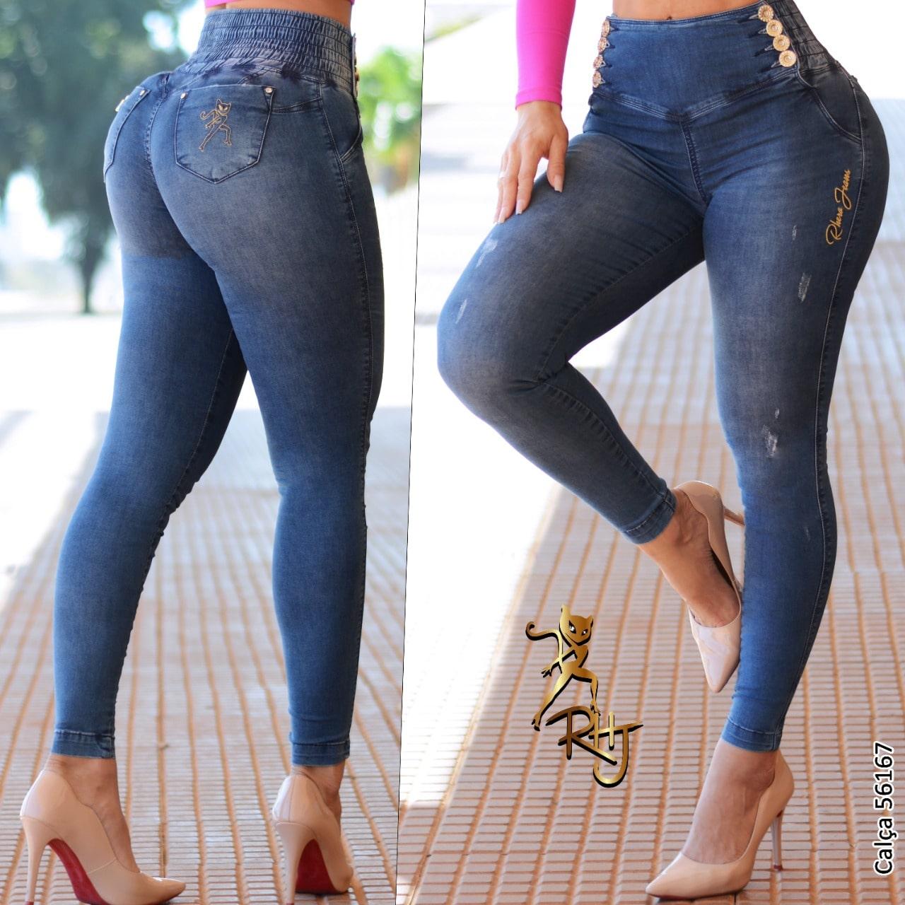 Calça Jeans Feminina Cigarrete Rhero Jeans