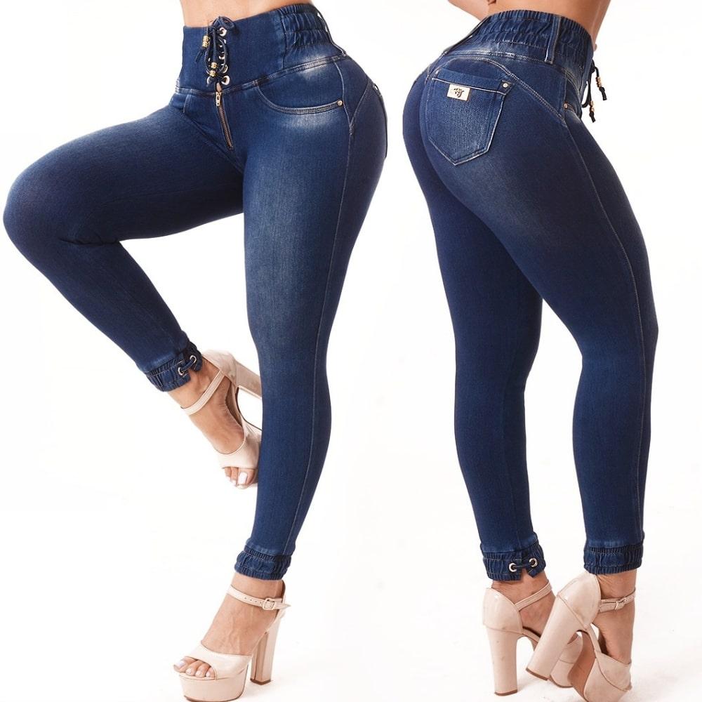 Calça Jeans Feminina Cropped Rhero Jeans