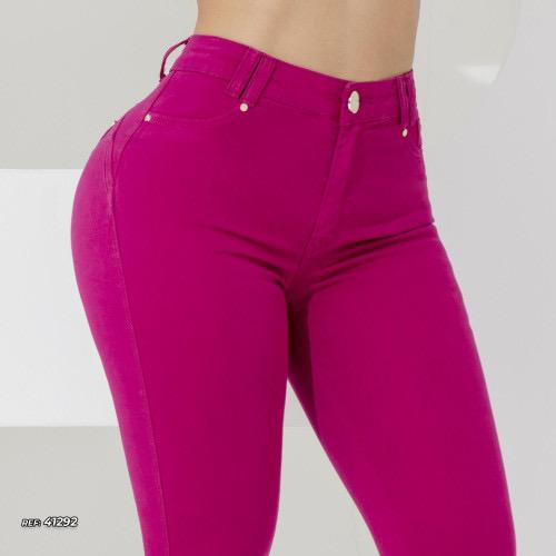 Calça jeans skinny color Pink Pit Bull Jeans Ref 41292