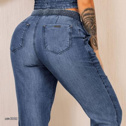 Calça jogger jeans Pit Bull Jeans